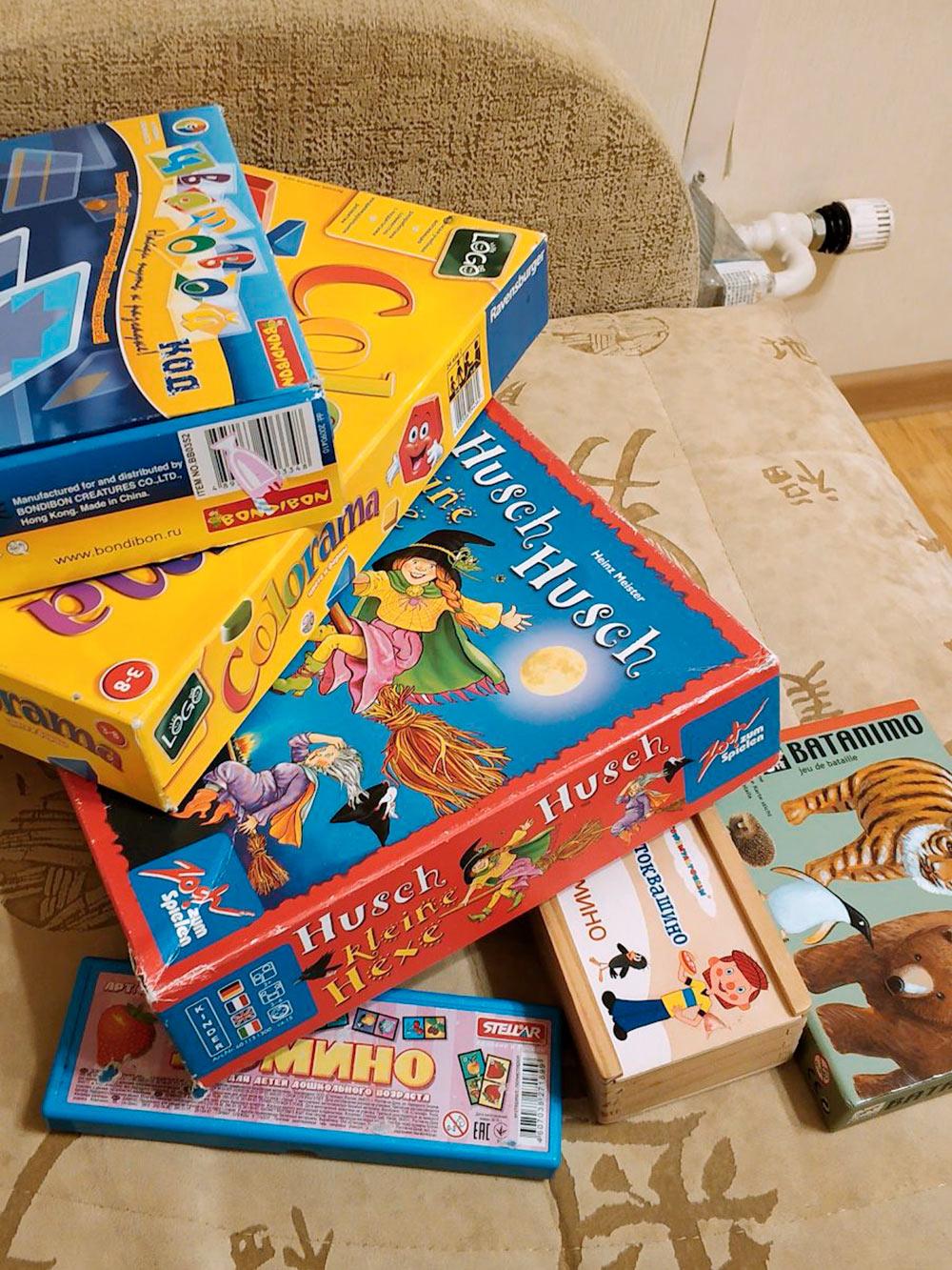 Часть игр из нашей коллекции