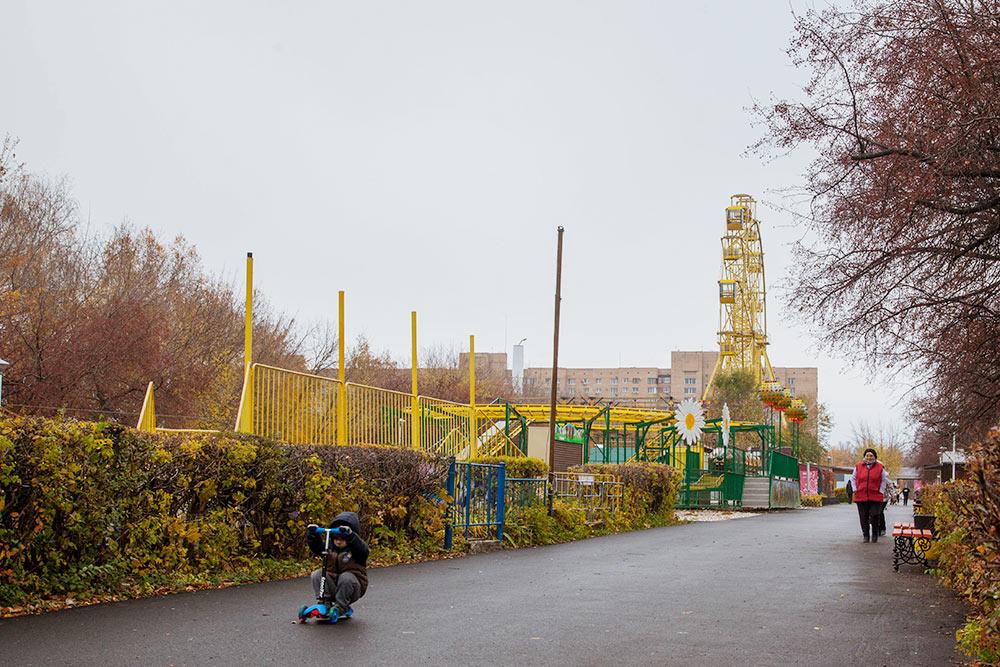 Детский парк в Автозаводском районе