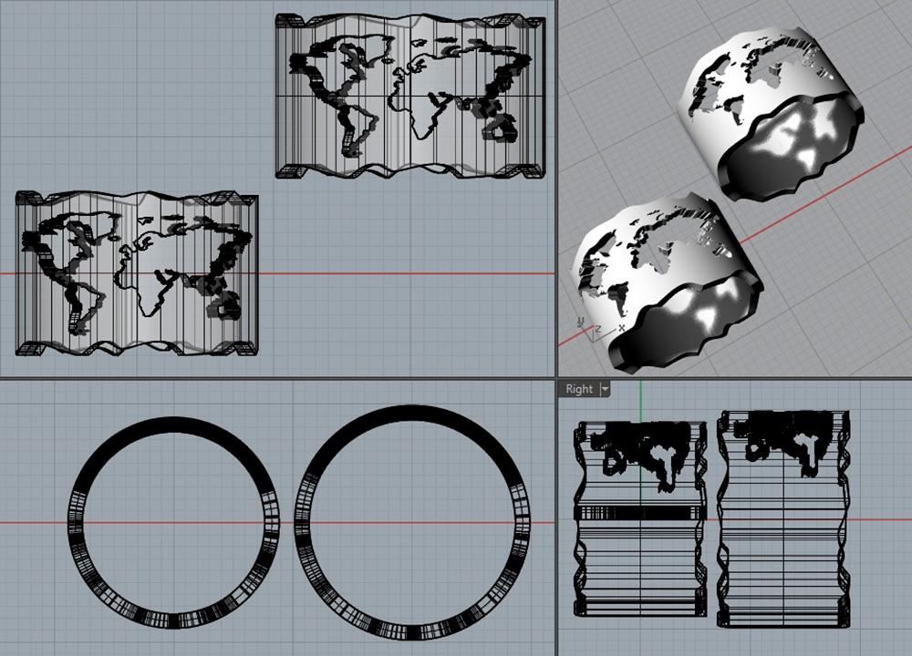 3Д-модельер создает модель либо в 3D-Max, либо вRhinoceros — это специальная программа дляювелиров. Модель нужна, чтобы по ней литейщик смог отлить кольцо