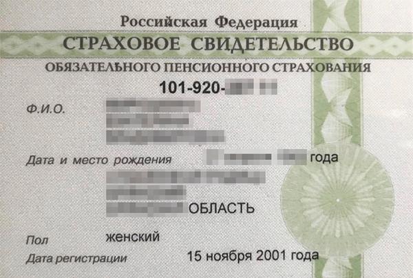 Так выглядят зеленые карточки со страховым номером. Они еще действуют, но новые уже не выдают