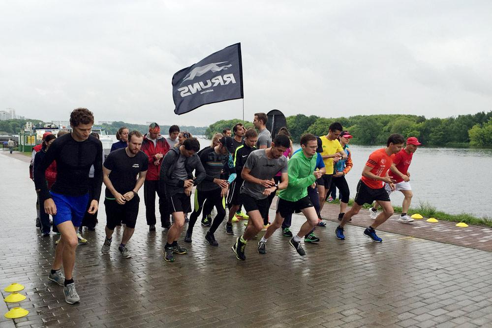 Участники сообщества RRUNS бегают круглый год, в любую погоду