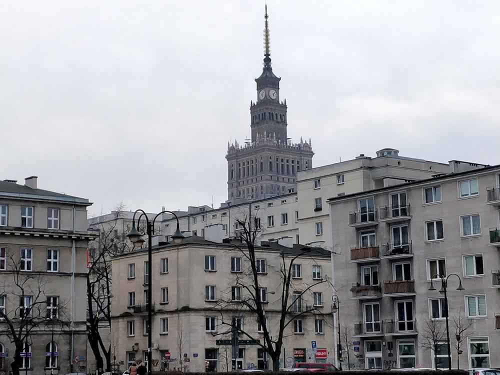 Типичная архитектура Варшавы