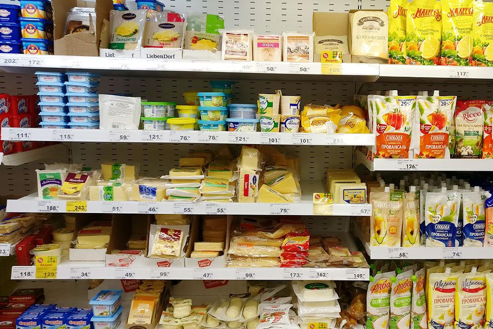 Цены в сетевых магазинах неотличаются отмосковских