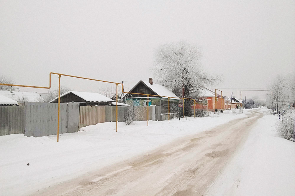 Частный сектор в районе бывшей слободы Владимировки