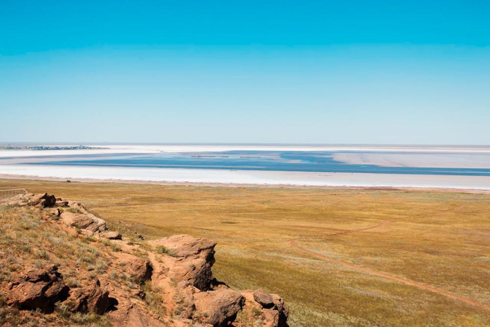 Соленое озеро Баскунчак. Фото: Владимир Поволоцкий