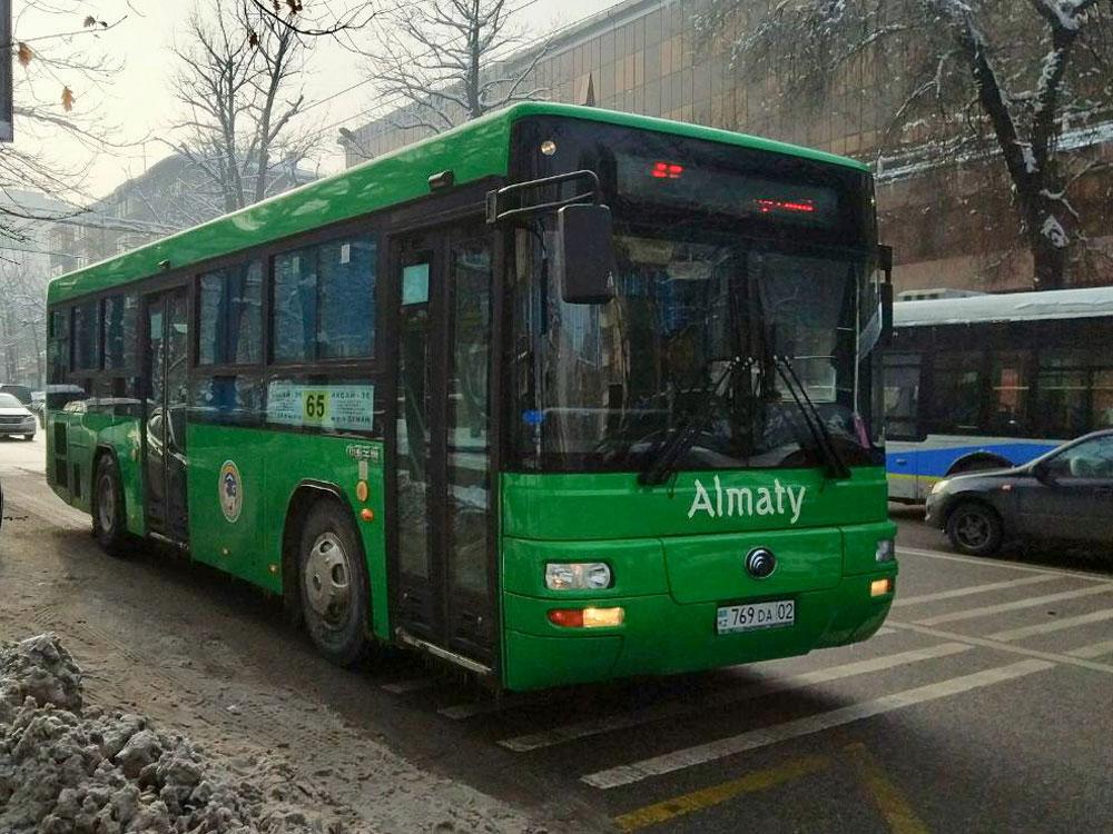 По большей части автобусы новые