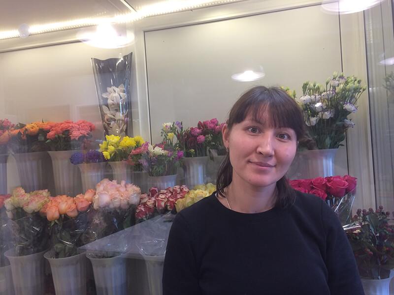 Асият Тагланова, директор магазина «Аморе-фиори» в Кисловодске