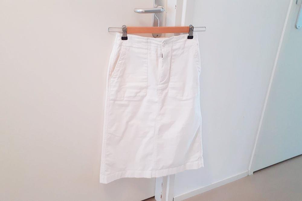 Эту юбку я купила на распродаже в «Юникло» за 5€