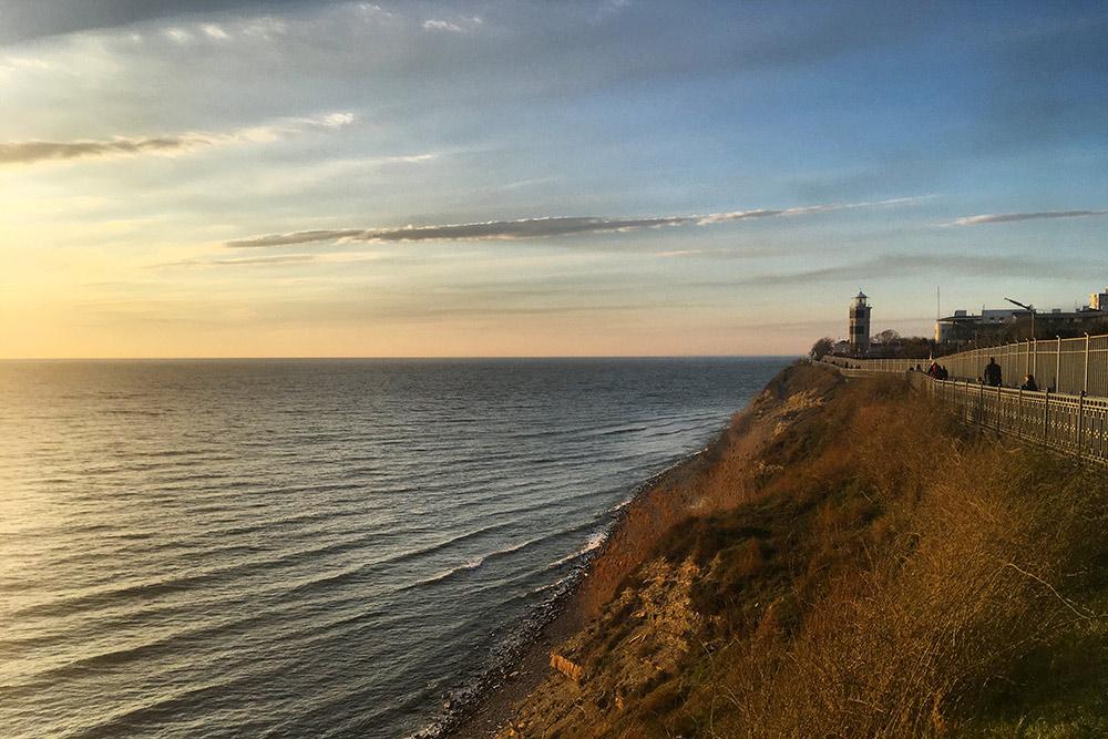 Уанапского маяка хорошо провожать закаты
