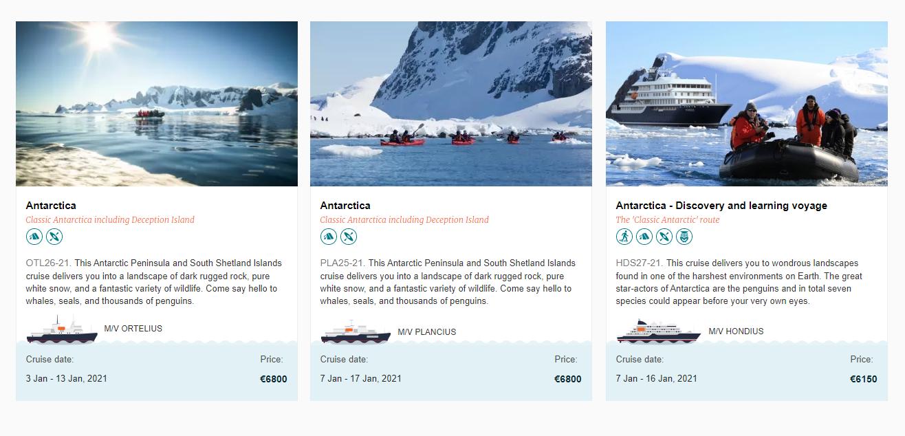 10-дневные туры от компании Oceanwide Expeditions