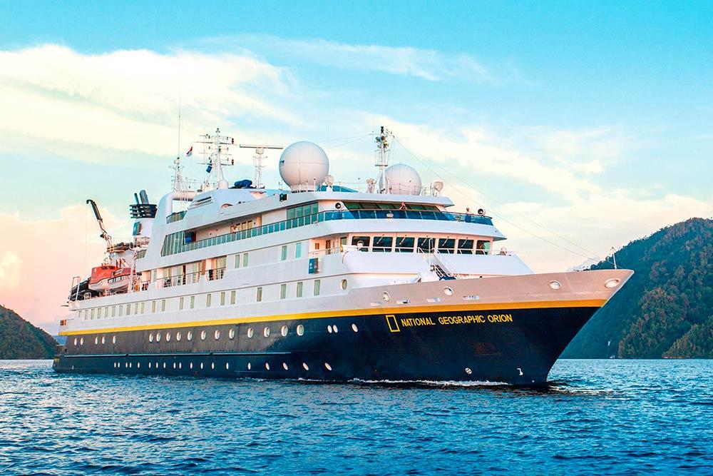 Одно из судов, на которых проходят антарктические туры от National Geographic. Источник: National Geographic Expedition