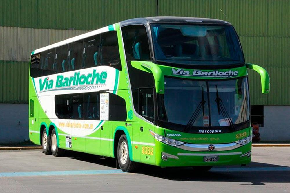 Автобусы компании «Виа Барилоче» — современные и комфортные. Источник: viabariloche.com