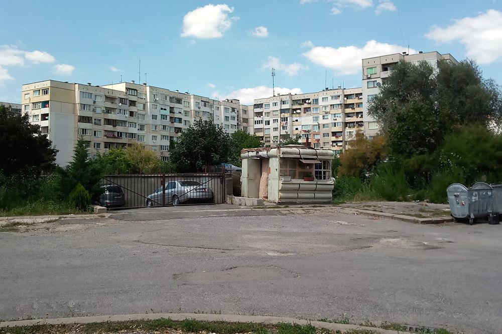 Жилые кварталы Софии производят гнетущее впечатление