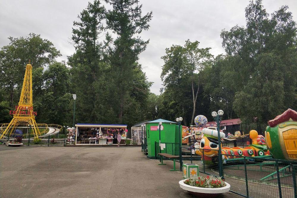 Сейчас парк похож на пережиток прошлого