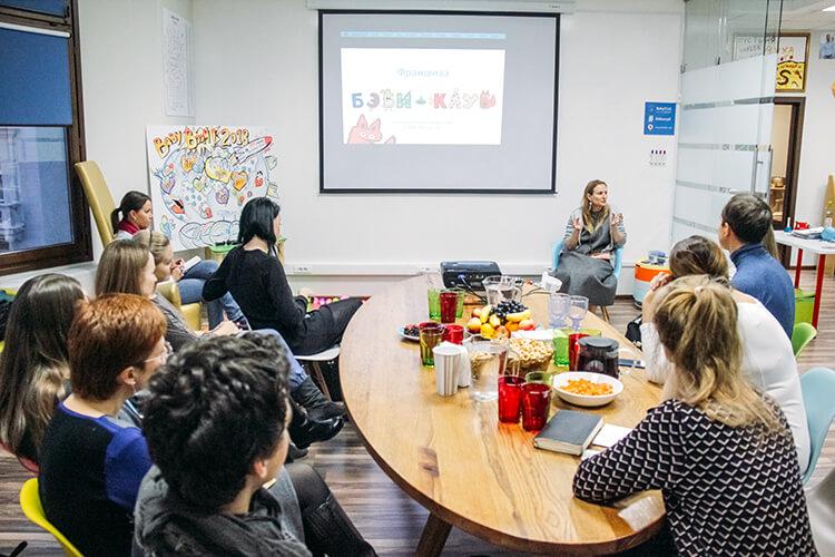 Основатель «Бэби-клуба» Евгения Белонощенко рассказывает о франшизе