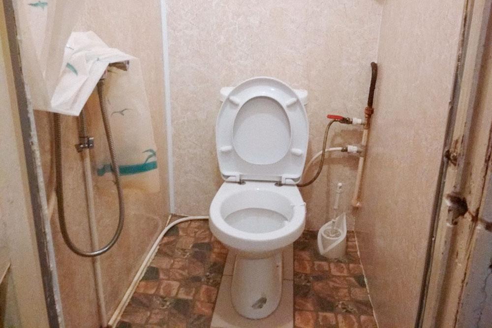 Душ в туалете, как в недорогих отелях южного Китая и Гонконга. Еще в Питере часто встречается душ на кухне, но мне такой вариант не нравится