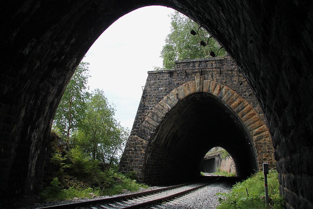 Иногда тоннели и галереи идут один за другим