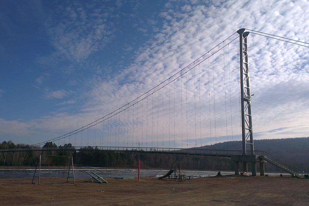 Подвесной мост в Шаманке — звезда «Инстаграма»