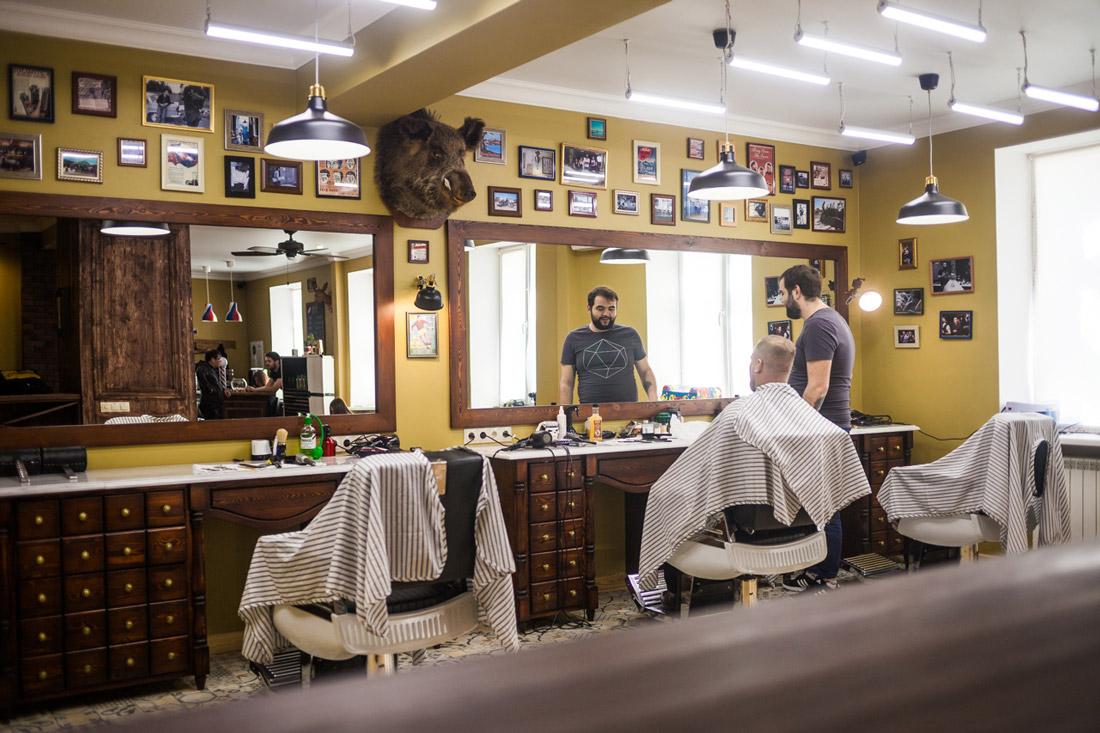 Для парикмахерской нужно от 40 до 100 м²