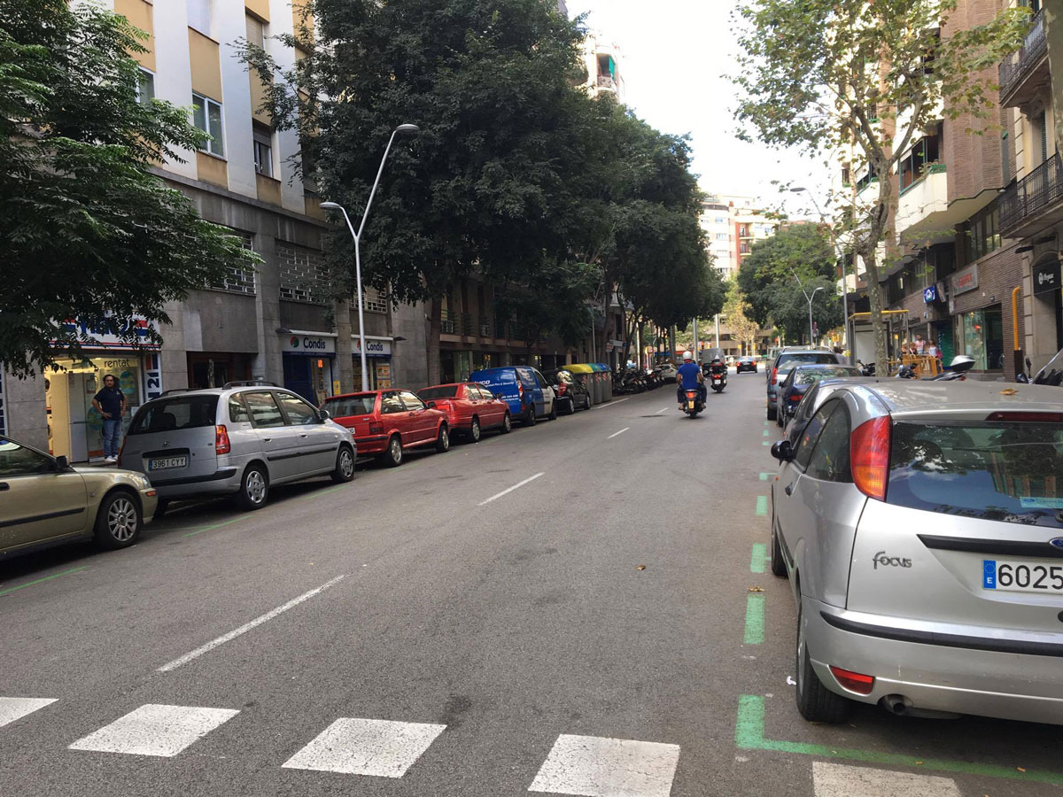 Парковка зеленой зоны — только для жителей этого квартала