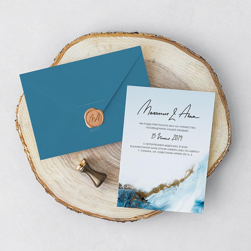 Дизайн свадебных приглашений