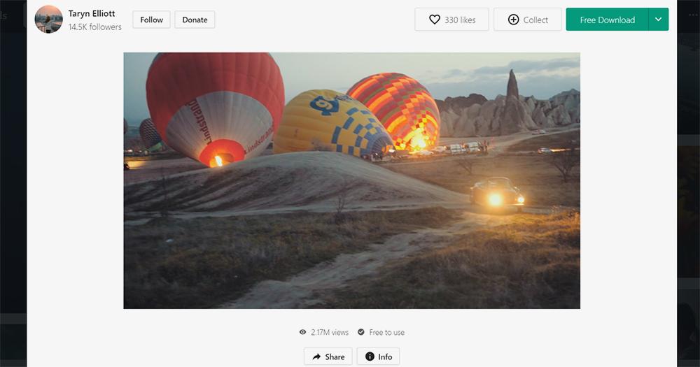 Видео со стоков удобно использовать как фон длярассказа о каких-то событиях в блоге