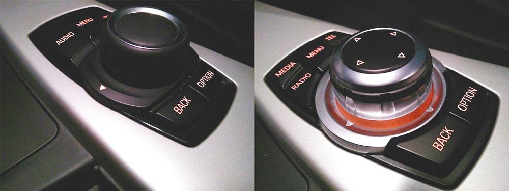 Базовый контроллер управления мультимедиа с пятью кнопками и расширенная версия High