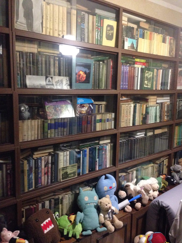 Часть дедушкиной библиотеки