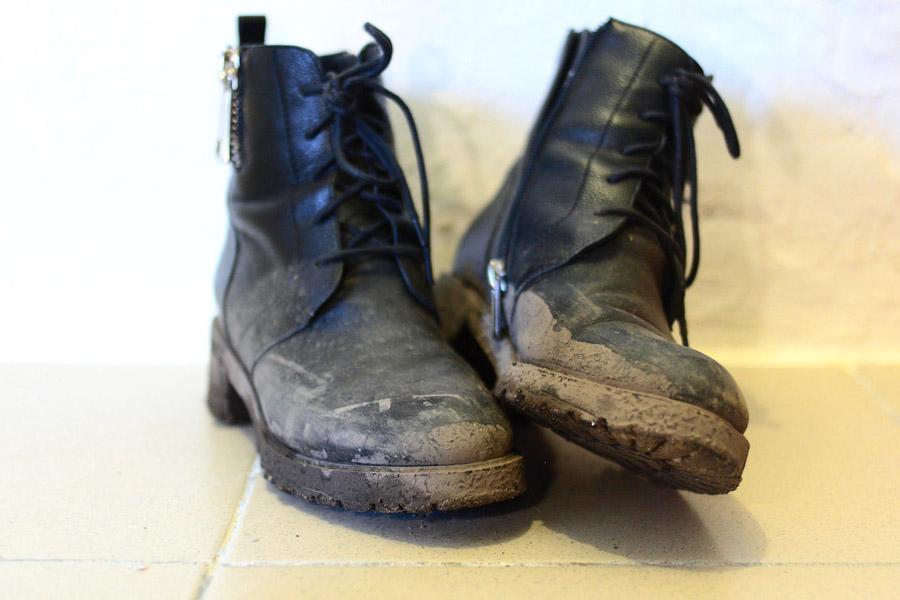 Демисезонные женские ботинки из Португалии после полутора апрельских недель