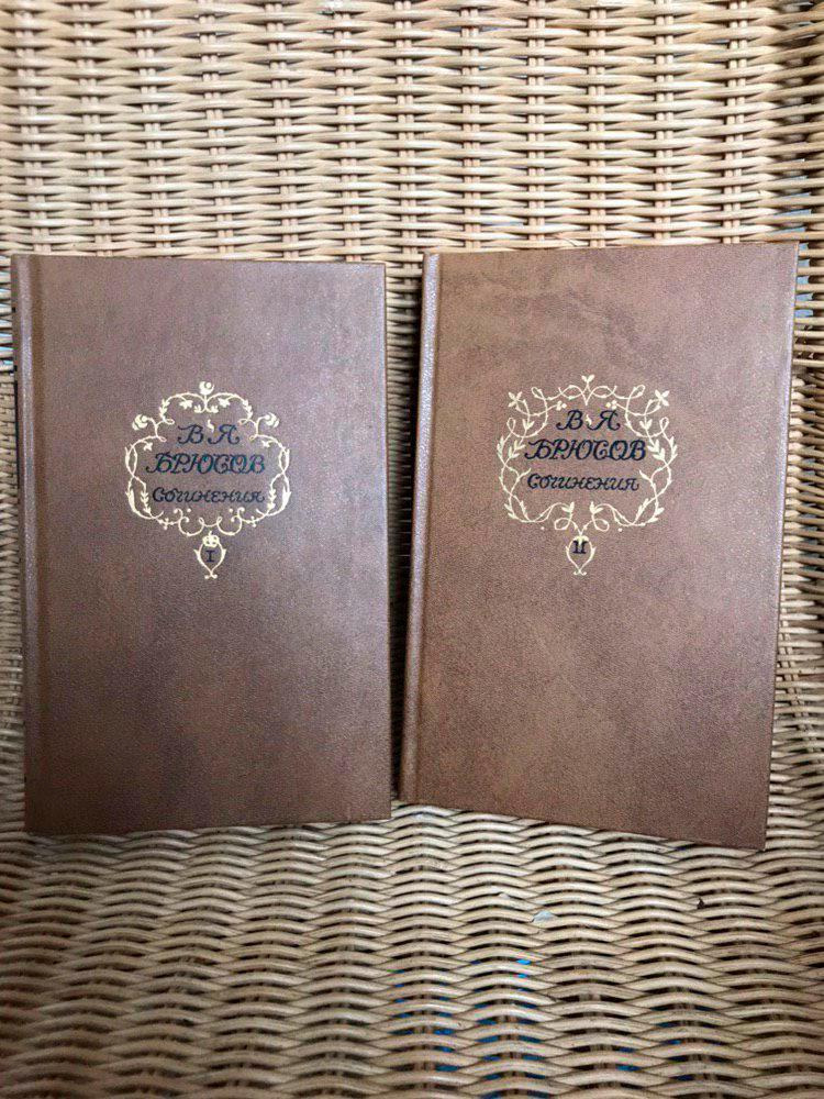 Два тома сочинений Брюсова я купила на «Авито» за 100 р. каждый. Книги в идеальном состоянии — кажется, их даже никто не открывал. Немного расстраивает, что на «Озоне» такие же продают в 2,5 раза дешевле — надо было сначала поискать в интернете