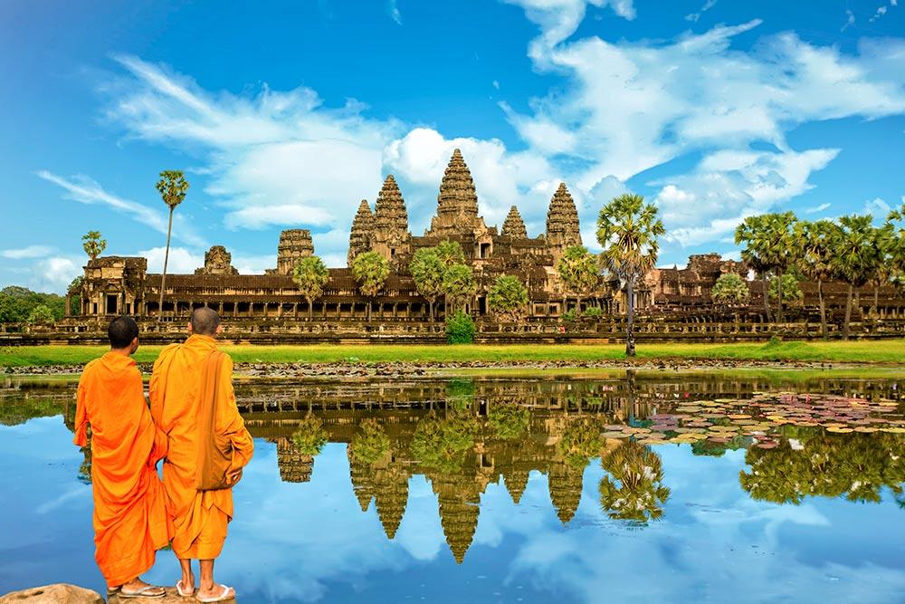 Древний храм Ангкор-Ват — самое поэтическое и умиротворяющее место в джунглях Камбоджи. Источник: Sakdawut Tangtongsap / Shutterstock