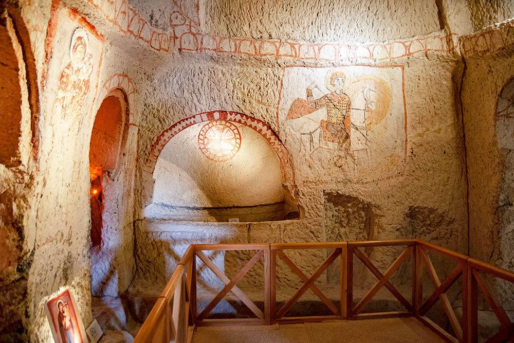 Фрески в Церкви с пряжкой реставрировали итальянские мастера