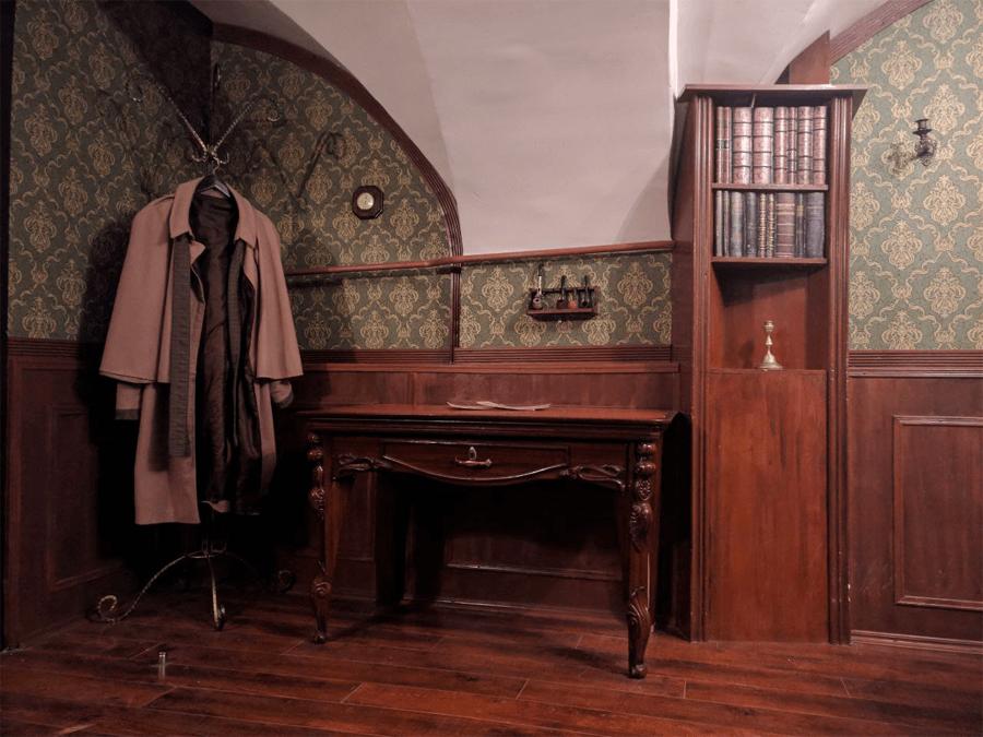 Квест «Бейкер-стрит, 221б» открылся в 2014 году, но пользуется популярностью до сих пор. Сейчас он работает в Таллине