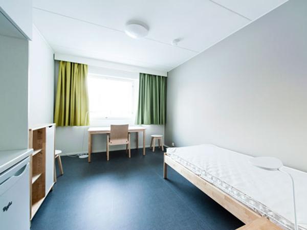 Комната до того, как туда заселяешься. Из мебели всё было