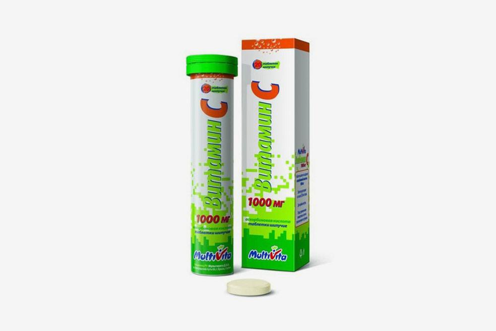 «Витамин C», 1000 мг. Цена: 323<span class=ruble>Р</span>