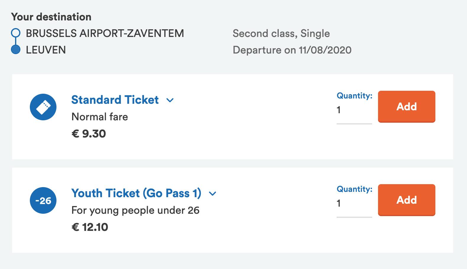 Иногда стандартные билеты дешевле молодежных. Я обнаружила это только во время написания статьи, а значит, некоторые билеты мы покупали дороже, чем моглибы