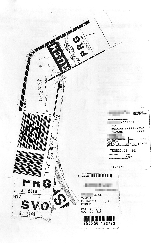 Также к документу Сергей приложил посадочный талон, багажную бирку, обращение в службу розыска багажа и оригиналы чеков из магазинов