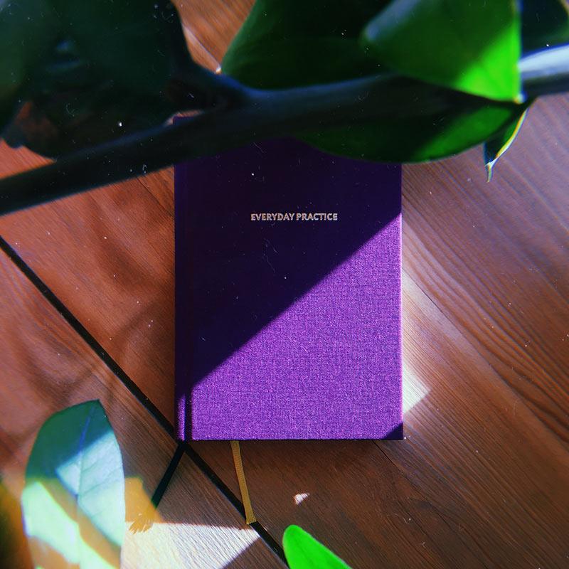 Так выглядит дневник для ежедневных практик