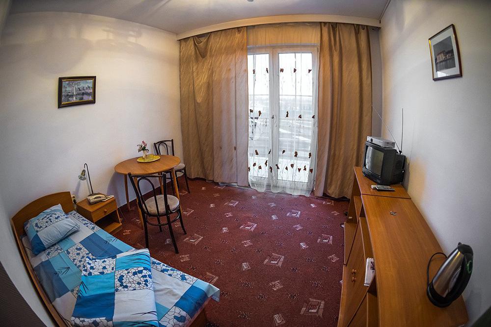 Гостиница «Асса» в Назрани: теперь здесь живут врачи. Источник: Vk