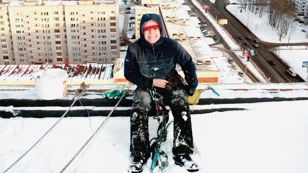 Профессия: промышленный альпинист