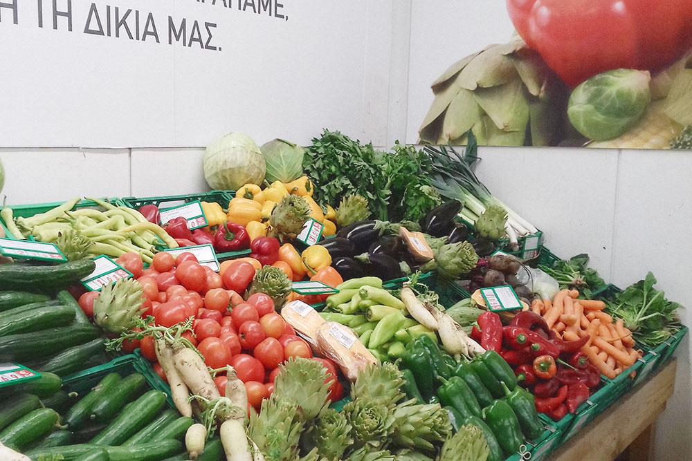 Критские овощи для меня самые вкусные в мире