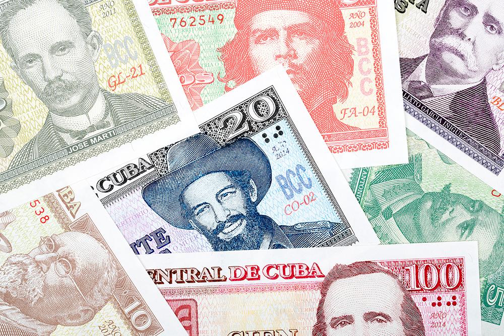 Местная валюта песо, или CUP. Автор: Janusz Pienkowski / Shutterstock