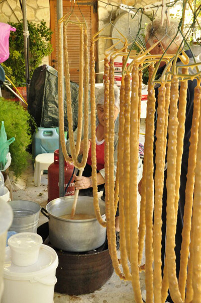 Тридиционные кипрские сладости — шушуко