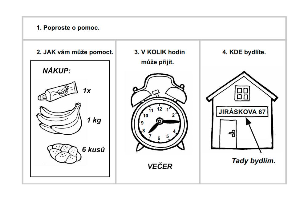 Пример задания из блока «Письмо». Так выглядит иллюстрированный план сообщения. Важно знать, как называются предметы на картинках, и употребить эти слова в тексте