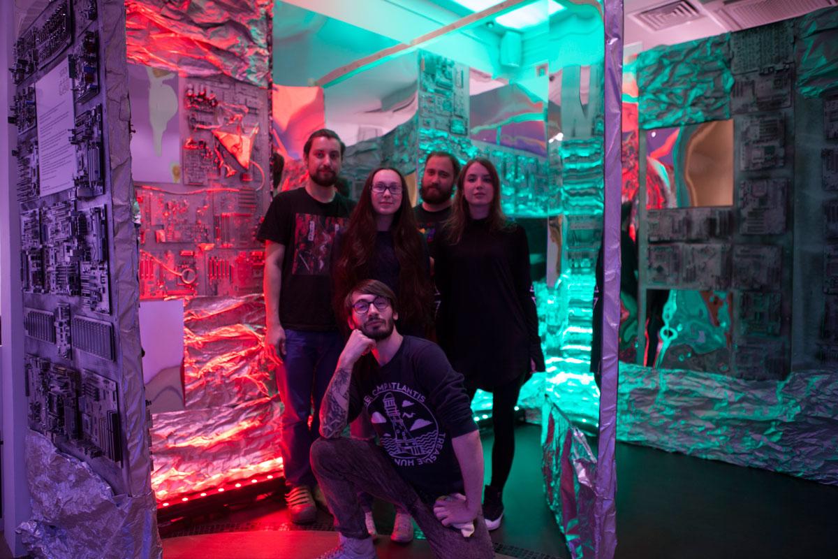 Часть команды арт-студии Feu De Coeur