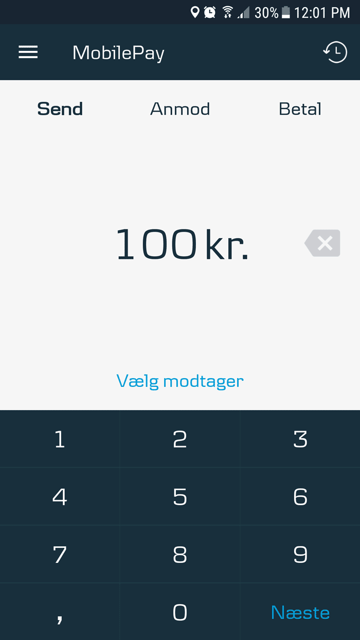 Приложение MobilePay разработали в «Данске-банке», но доступно оно клиентам любого банка
