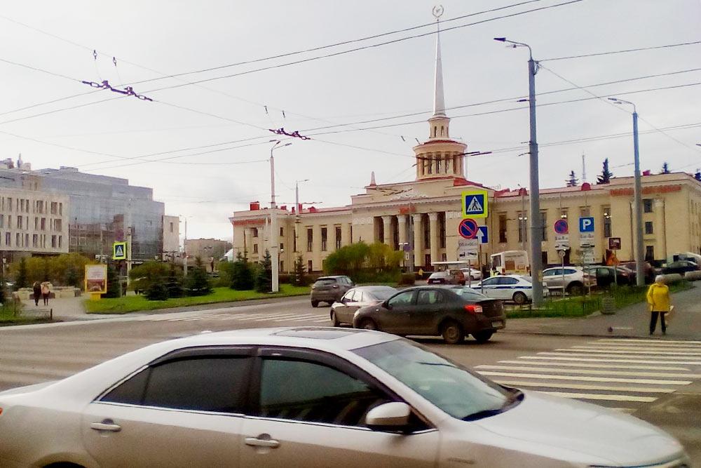 Вокзал уже отремонтировали