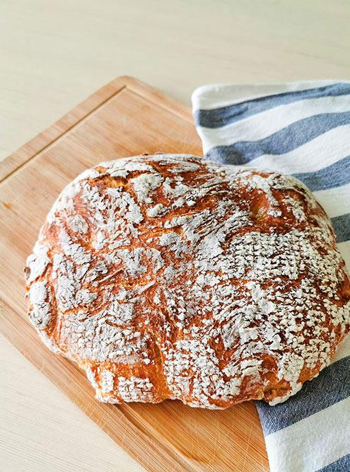 Блины и хлеб наполняют квартиру непередаваемым ароматом