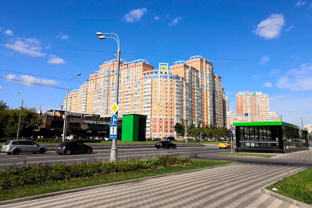 В Раменках новые дома и чисто по сравнению с Екатеринбургом
