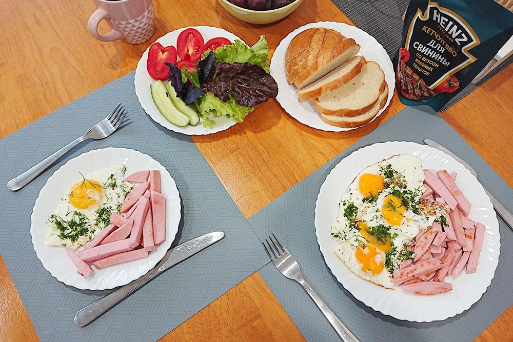 Такие завтраки я называю сложными и готовлю только по выходным